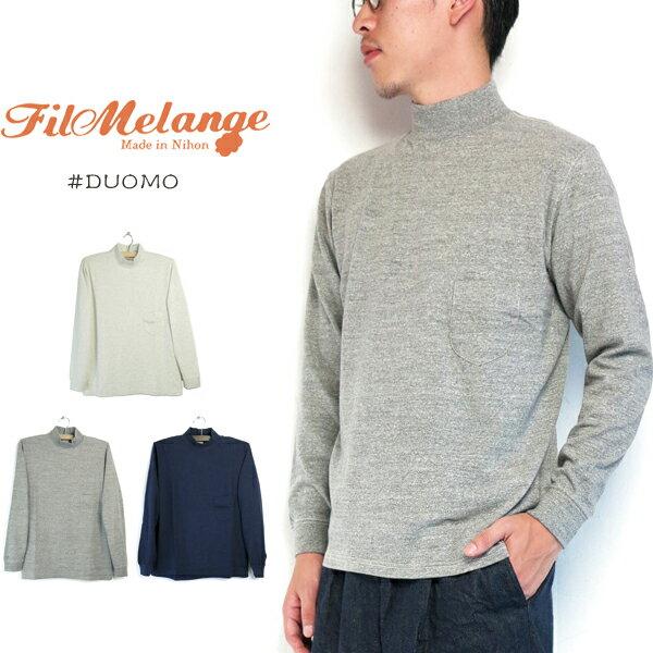 トップス, Tシャツ・カットソー 20AW () FilMelange DUOMO (TT345)