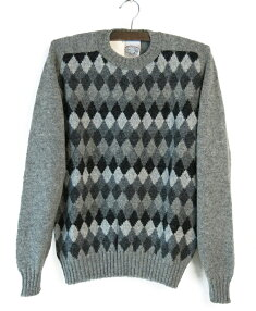 Argyle Crewneck Sweater MK941