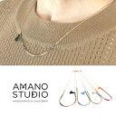 (AMANO STUDIO) アマノスタジオ #Seed Bead Necklace シードビーズネックレス フリンジチャーム付き アマノビーズ ヴィンテージ風 (レディース/アクセサリー/14K/ゴールドオーバーブラス/カリフォルニア/ネコポス対応)