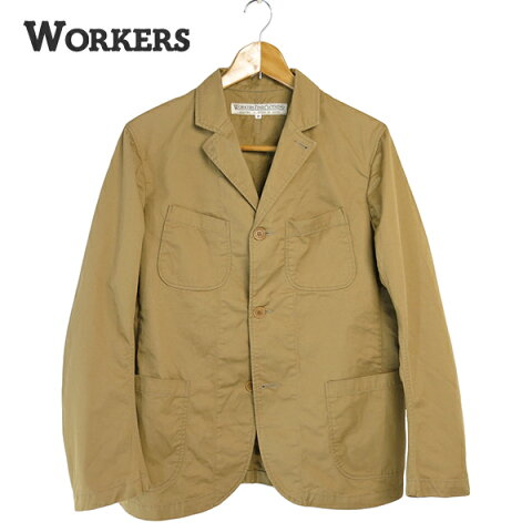 Workers Lounge Jacket Light Chino