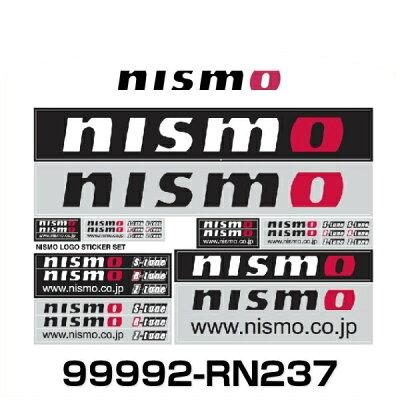 NISMOニスモロゴステッカーセット【品番:99992-RN237】