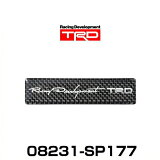TRD 08231-SP177 カーボンステッカー