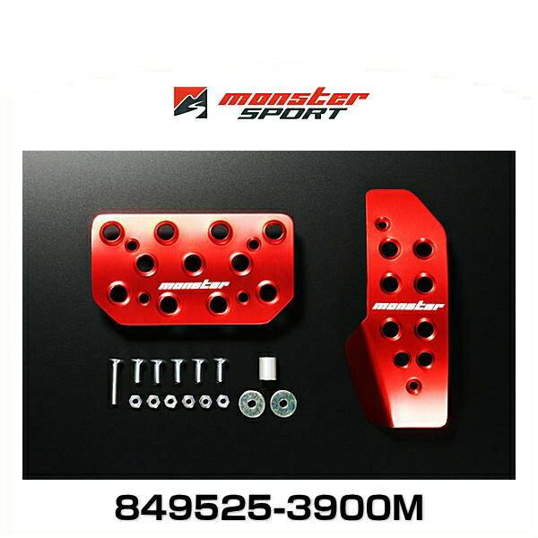 Monster SPORT モンスタースポーツ 849525-3900M レッドアルマイト スポーツドライビングペダルカバー エブリイ AT/5AGS車用画像