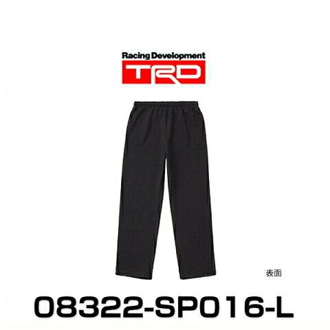 TRD 08322-SP016-L スウェットパンツ Lサイズ ブラック SWEAT PANTS グッズ