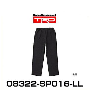 TRD 08322-SP016-LL スウェットパンツ LLサイズ ブラック SWEAT PANTS グッズ