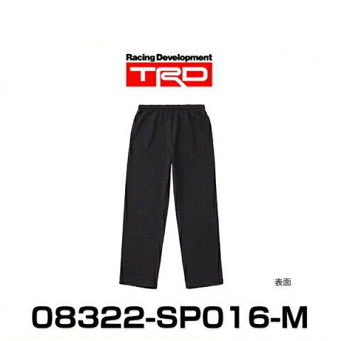 TRD 08322-SP016-M スウェットパンツ Mサイズ ブラック SWEAT PANTS グッズ