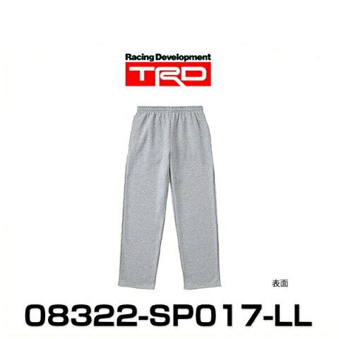 TRD 08322-SP017-LL スウェットパンツ LLサイズ グレイ SWEAT PANTS グッズ
