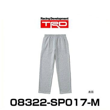 TRD 08322-SP017-M スウェットパンツ Mサイズ グレイ SWEAT PANTS グッズ