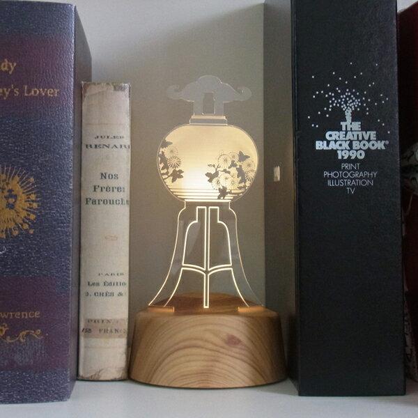acrystaアクリスタLEDアクセサリースタンドAKARI盆提灯アカリ