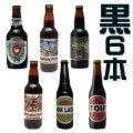 【飲みくらべ☆トライアルセット】■トライアル6☆[黒ビールSTOUT]厳選した黒ビールを6本セットに!スタウト好きにはこのセット!