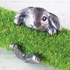 銀工房AramaRoots(アラマルーツ) うさぎ リング ロップイヤー シルバー メンズ レディース [AR49] アクセサリー作家・加藤心姿さんの手作りアクセサリー ハンドメイドジュエリー うさぎリング 指輪 大人かわいい ウサギ ネザーランドドワーフ ホーランド たれみみ 兎 日本製