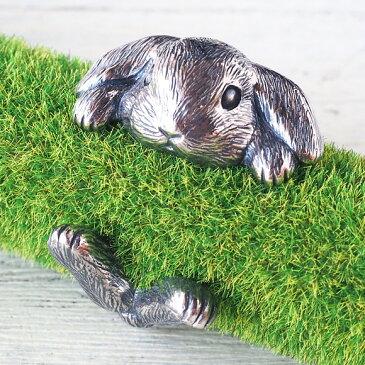銀工房AramaRoots(アラマルーツ)うさぎリング ロップイヤー シルバー メンズ レディース [AR49] アクセサリー作家・加藤心姿さんの手作りアクセサリー ハンドメイドジュエリー 指輪 大人かわいい ウサギ 動物 アニマル たれみみ モチーフ 兎 Rabbit ラビット 日本製 国産