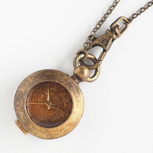 "JOIE INFINIE DESIGN(ジョイ アンフィニィ デザイン)手作り懐中時計""KIKI""[D-5934] 時計作家・..."