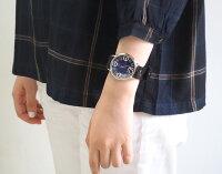 """渡辺工房手作り腕時計ジャンボシルバー""""GRANDAD2""""ブルー文字盤[NW-JUM116B-BL]"""