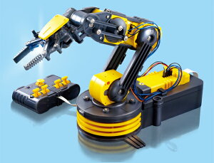 基本的なロボット技術の学習と、5つのモータ・5つの関節を持つあなただけの有線リモコン型送料...