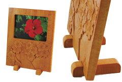 フレーム工作キット木彫やペイントでオリジナルの額を作ろう木彫写真立て(しな材一枚板)『夏...