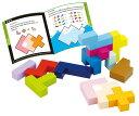 知育玩具 4歳「立体パズル」木のおもちゃ 木製玩具 エドインター 男の子 女の子 子供
