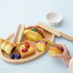 おままごとセット「職人さんごっこパン職人」木のおもちゃ 木製 野菜 食材
