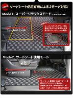 【送料無料】ヴォクシー/ノア/エスクァイア専用設計セカンドラグマットフルカバータイプ【CHKマット】1BOXミニバン