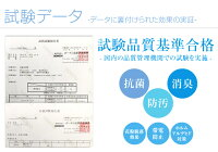 空気触媒加工ティオティオTioTio、試験データ1
