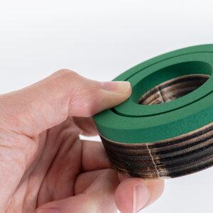 [ハンドプレス機専用]29mmくるみボタン用ファブリック&レザーカッター