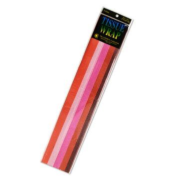 Papier de soie 薄葉紙・包装紙 [レッドミックス] 50.8x50.8cm 10枚 Cindus Tissue Paper Red Mix 20