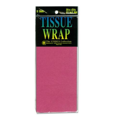 Papier de soie 薄葉紙・包装紙 [ボンベイピンク] 50.8x50.8cm 10枚 Cindus Tissue Paper Bombay Pink 20