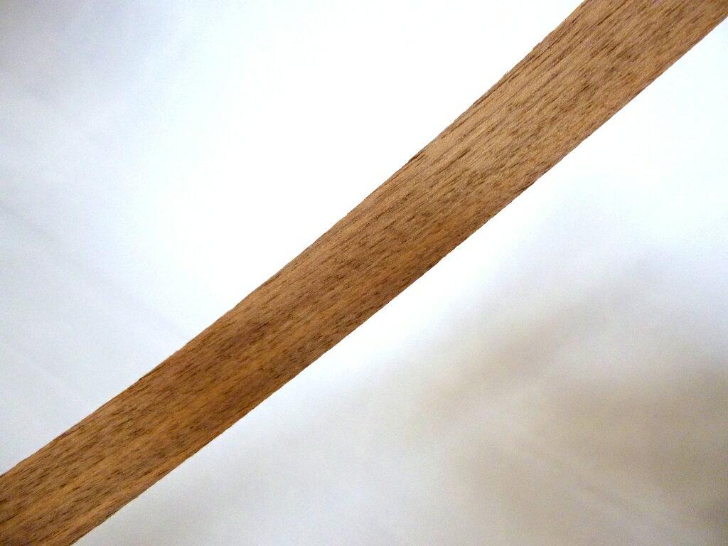 小口ツキ板・ウォールナット 18mm幅