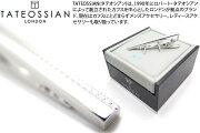 TATEOSSIAN タテオシアン グリッドロングタイバー ロジウム クリップ ブランド