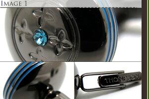 THOMPSONトンプソンUFOBLUECUFFLINKSユーフォーカフス(ブルー)【トンプソン正規取扱】【送料無料】【カフスボタンカフリンクス】【ブランド】