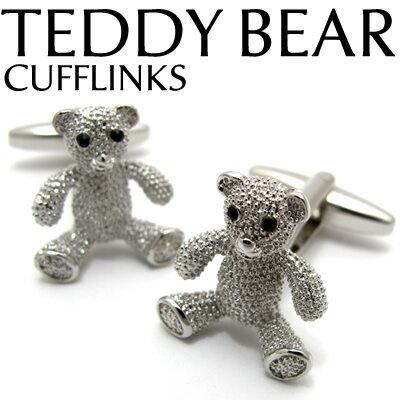VALUE3500 TEDDY BEAR CUFFLINKS テディベアカフス 【カフスボタン カフリンクス】