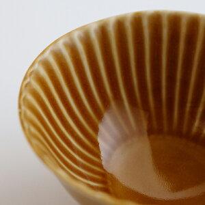 【波佐見焼】【しのぎ】【shinogi】【茶碗】【キャメル】(大)