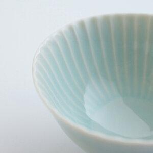 【波佐見焼】【しのぎ】【shinogi】【茶碗】【青磁】(小)
