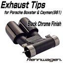 Rennwagen Exhaust Tips for Porsche ...