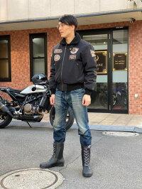 長靴バイク