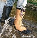 WILD WING レインブーツ 長靴【到着後レビューでサイズ交換1回無料&送料無料】ライディングにも アウトドアにも 雨の日におすすめ フラミンゴ RIN-001 ワイルドウィングWILD WINGオリジナルの靴型・ソール・中敷きでこだわり満載・・・