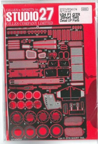 車・バイク, レーシングカー F1 GTR Short Tail Detail up parts(F124)