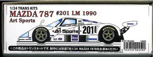 MAZDA 787 787B #201 ART SPORTS LM 1990 DECAL for 1//24 TAMIYA DIEUDONNE JOHANSSON