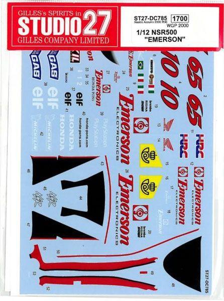 車・バイク, バイク 112 HONDA NSR500 EMERSON WGP 2000