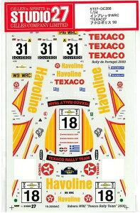 """1/24 SUBARU IMPREZA WRC""""TEXACO""""アクロポリス'00"""