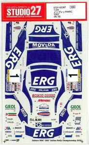 """1/24 SUBARU IMPREZA  WRC""""ERG""""IRC'00"""