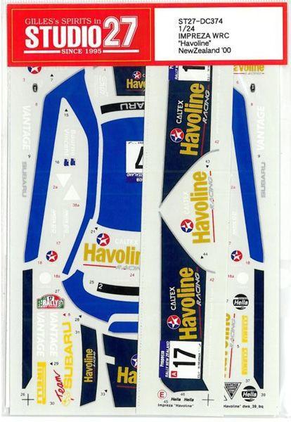 車・バイク, レーシングカー 124 SUBARU IMPREZA WRC HAVOLINE00