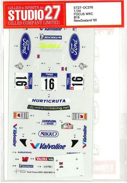 車・バイク, レーシングカー 124 FOCUS WRC 16 New Zealand 00
