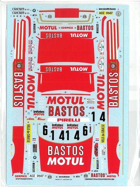 車・バイク, レーシングカー 124 BMW M3 BASTOSTour de corseAlpin 1989