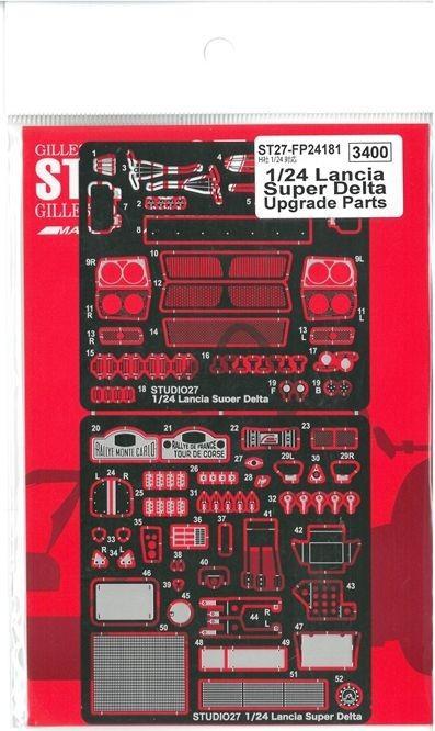 車・バイク, レーシングカー 124 Lancia Super Delta Upgrade Parts (H120
