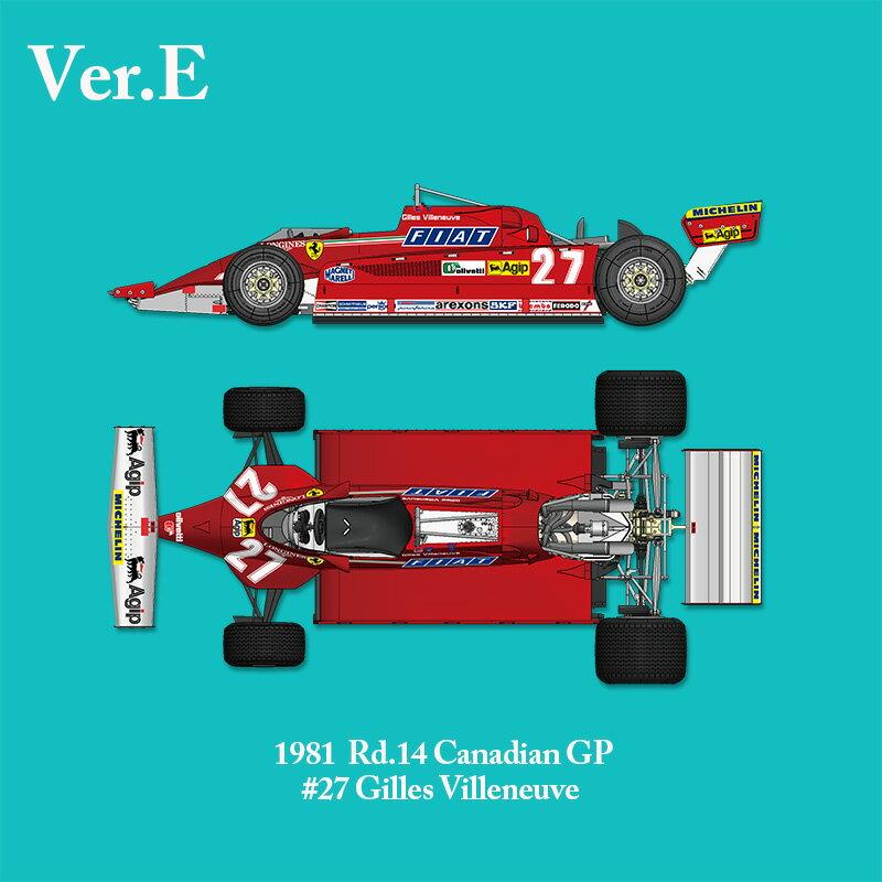 車・バイク, レーシングカー  126CK 1981 Rd.14 CanadianMFH 112 K641 Ver.E