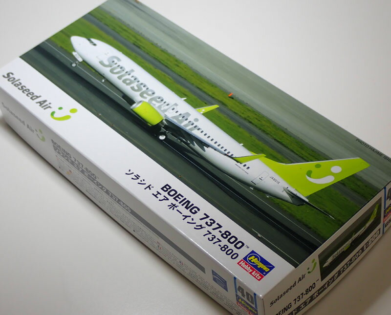1/200 ソラシド エア ボーイング 737-800【ハセガワ 10740】