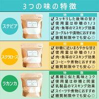 【06】3つの味の特徴
