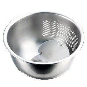 にお米研ぎや麺類の水切りに3WAY ステンレス水切ボール(洗米・米研ぎボール)【日本製】