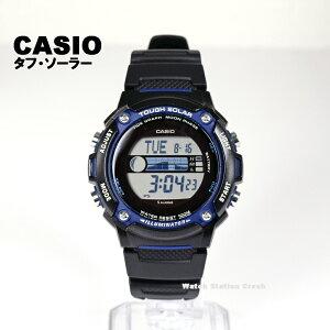 CASIO【ソーラー】SPORT GEAR カシオ スポーツウォッチ W-S210H-1A WS210H タイドグラフ・ムーンデータ 海 潮 アウトドア つり 10気圧防水 メンズ レディース 腕時計 BOXなし メール便